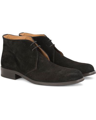 Morris Chukka Suede Boots Black i gruppen Skor / K�ngor / Chukka boots hos Care of Carl (13159211r)