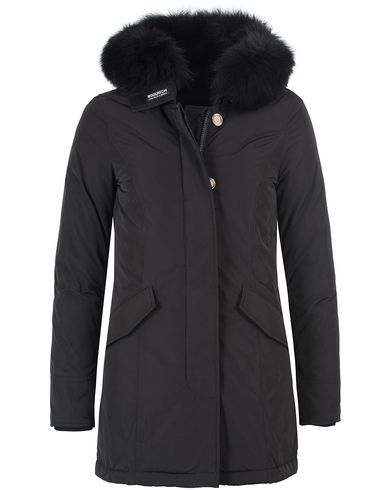 Woolrich Woman Artic Luxury Fox Parka New Black i gruppen Jackor / Parkas hos Care of Carl (13160211r)