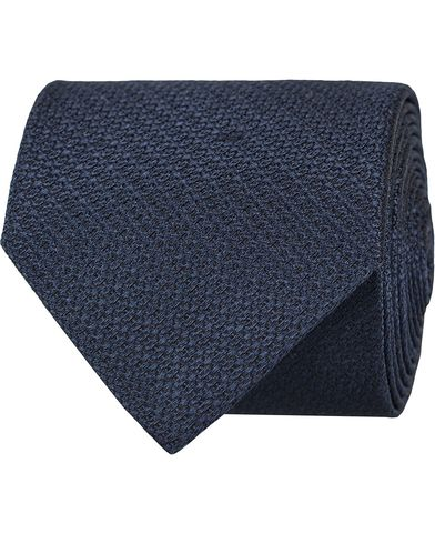 Tiger of Sweden Hanns 7 cm Silk Tie Dark Navy  i gruppen Accessoarer / Slipsar hos Care of Carl (13160510)