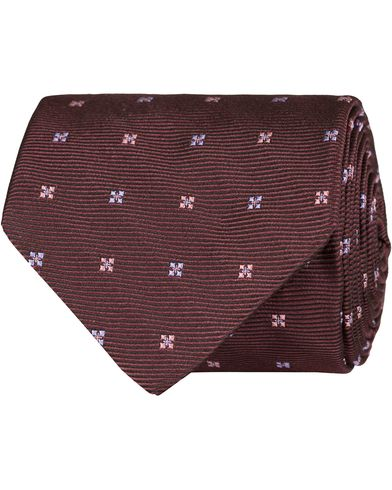 Tiger of Sweden Elder 7 cm Silk Tie Bordeux  i gruppen Accessoarer / Slipsar hos Care of Carl (13160610)