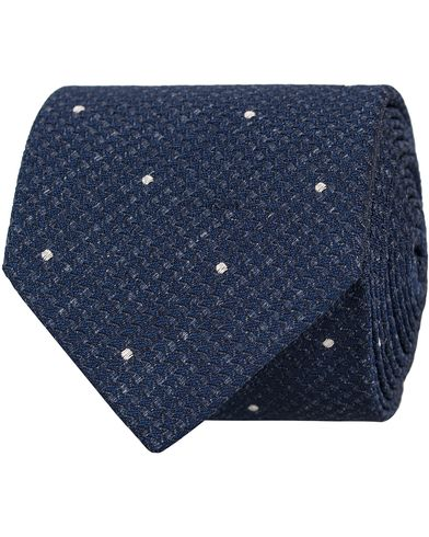 Tiger of Sweden Abst 7 cm Tie Navy  i gruppen Accessoarer / Slipsar hos Care of Carl (13160810)
