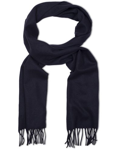 Tiger of Sweden Comelico Wool Scarf Dark Navy  i gruppen Accessoarer / Halsdukar hos Care of Carl (13161510)
