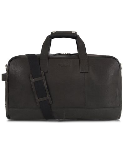 Tiger of Sweden Maisina Leather Weekendbag Washed Black  i gruppen Väskor / Weekendbags hos Care of Carl (13162010)