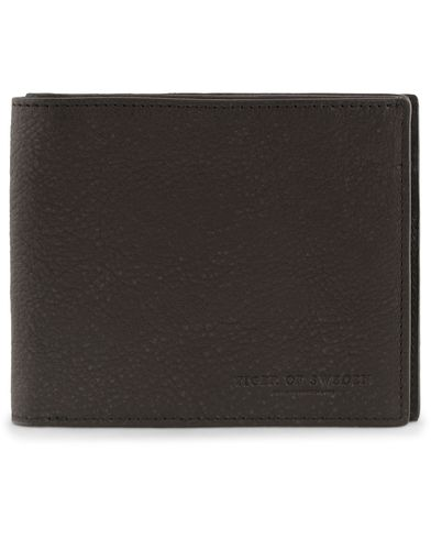 Tiger of Sweden Egil 2 Leather Wallet Washed Black  i gruppen Assesoarer / Lommebøker / Vanlige lommebøker hos Care of Carl (13162410)