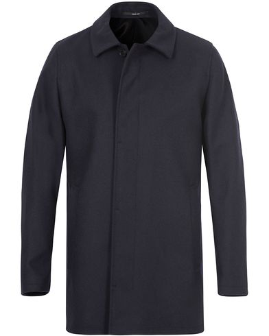 Tiger of Sweden Bruiser 11 Wool Coat Navy i gruppen Jakker / Vinterjakker hos Care of Carl (13162911r)