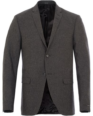 Tiger of Sweden Jil 3 Flannel Blazer Grey i gruppen Kläder / Kavajer / Enkelknäppta kavajer hos Care of Carl (13163211r)
