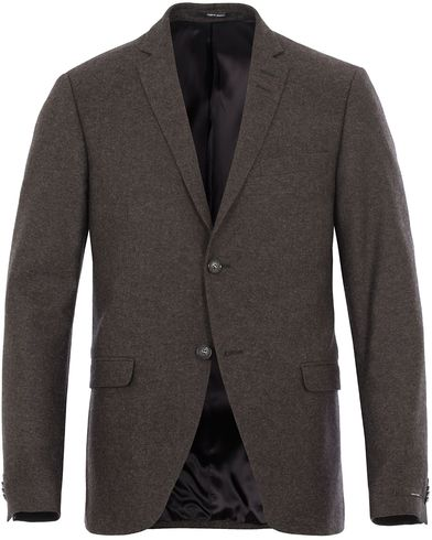 Tiger of Sweden Jil 3 Flannel Blazer Brown i gruppen Dressjakker / Enkeltspente dressjakker hos Care of Carl (13163411r)