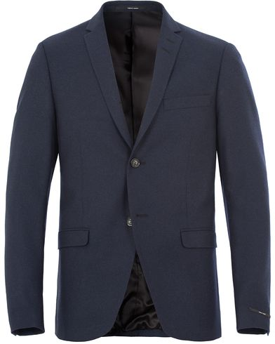 Tiger of Sweden Jil 3 Flannel Blazer Navy i gruppen Dressjakker / Enkeltspente dressjakker hos Care of Carl (13163611r)