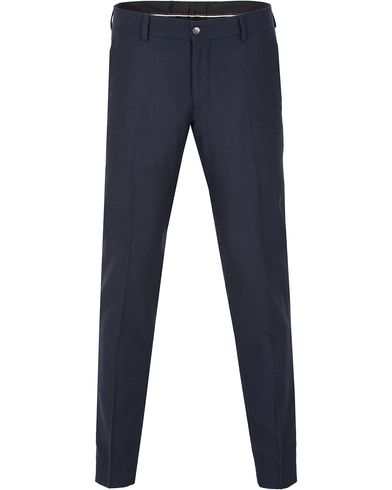Tiger of Sweden Herris Flannel Trousers Navy i gruppen Byxor / Kostymbyxor hos Care of Carl (13163711r)
