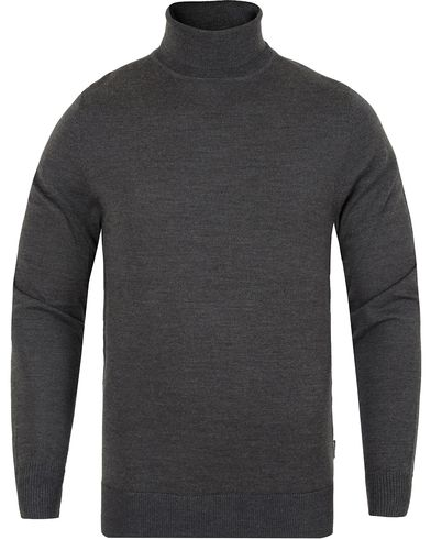 Tiger of Sweden Visavi Turtleneck Grey i gruppen Kläder / Tröjor / Polotröjor hos Care of Carl (13164811r)