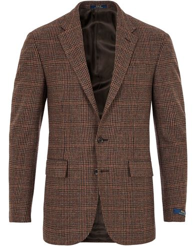 Polo Ralph Lauren Clothing Glen Check Sportcoat Rust Brown i gruppen Kavajer / Enkelknäppta kavajer hos Care of Carl (13167311r)
