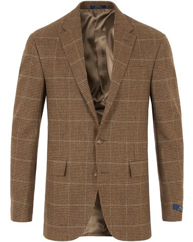 Polo Ralph Lauren Clothing Harvard Sportcoat Olive/Brown i gruppen Klær / Dressjakker / Enkeltspente dressjakker hos Care of Carl (13167411r)