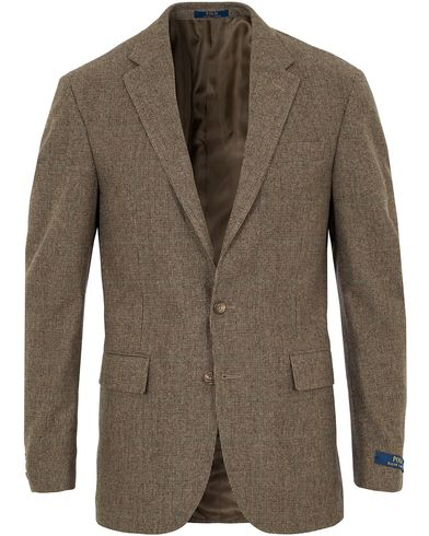 Polo Ralph Lauren Clothing Tick Weave Sportcoat Brown i gruppen Kavajer / Enkelknäppta kavajer hos Care of Carl (13167511r)