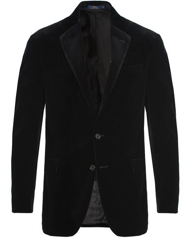 Polo Ralph Lauren Clothing Velvet Blazer Black i gruppen Kavajer / Uddakavajer hos Care of Carl (13167711r)