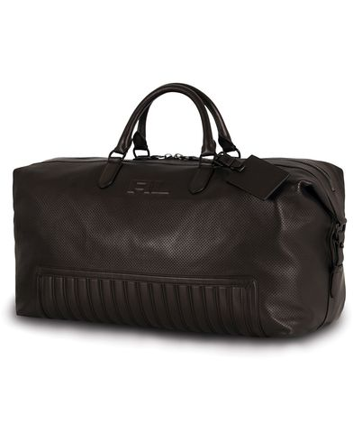Ralph Lauren Purple Label Whale Duffle Quilted Detail Black Calf  i gruppen Accessoarer / Väskor / Weekendbags hos Care of Carl (13169010)