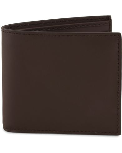 Ralph Lauren Classic Billfold Dark Brown Saddle Calf  i gruppen Assesoarer / Lommebøker / Vanlige lommebøker hos Care of Carl (13170010)