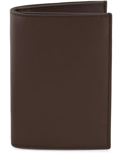 Ralph Lauren Purple Label Passport Cover Dark Brown Saddle Calf  i gruppen Accessoarer / Plånböcker hos Care of Carl (13170310)