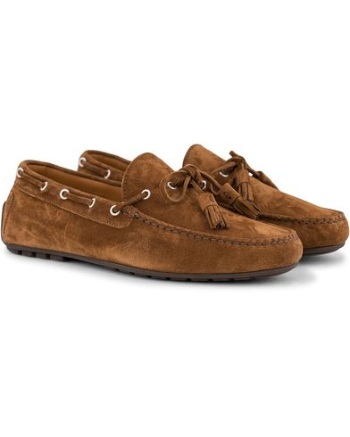 Ralph Lauren Purple Label Harold Tassel Carshoe Snuff Suede i gruppen Sko / Mokkasiner hos Care of Carl (13170911r)