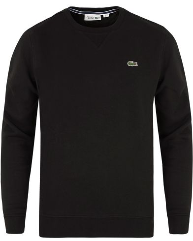 Lacoste Sweatshirt Black i gruppen Tröjor / Sweatshirts hos Care of Carl (13172611r)