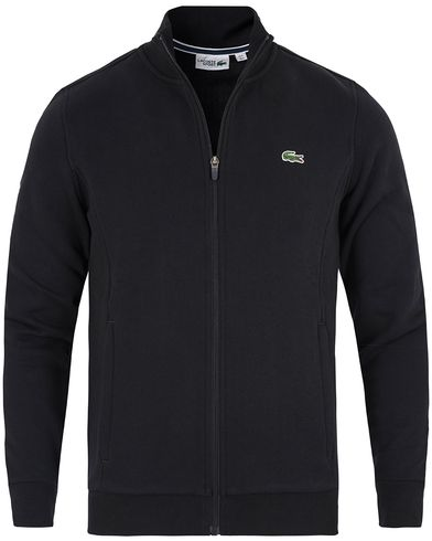 Lacoste Full Zip Sweater Black i gruppen Gensere / Zip-gensere hos Care of Carl (13172811r)
