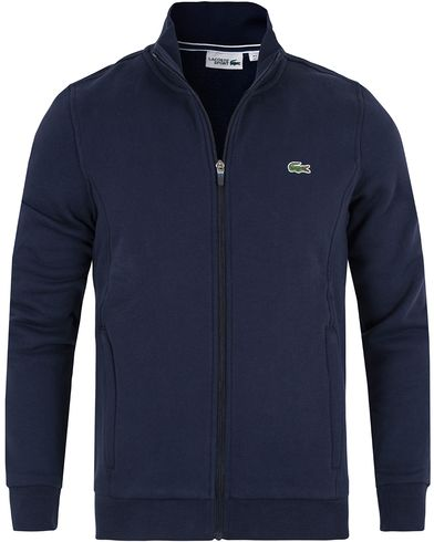 Lacoste Full Zip Sweater Navy i gruppen Gensere / Zip-gensere hos Care of Carl (13172911r)