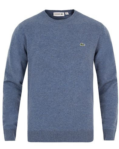Lacoste Lambswool Pullover C-Neck Storm Chine i gruppen Gensere / Pullover / Pullovere rund hals hos Care of Carl (13173811r)