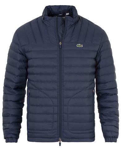 Lacoste Quilted Jacket Navy Blue i gruppen Jackor / Tunna jackor hos Care of Carl (13174211r)
