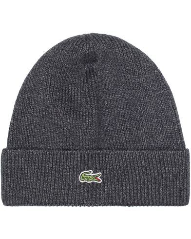 Lacoste Knitted Cap Dark Grey Jaspe  i gruppen Assesoarer / Luer hos Care of Carl (13174410)