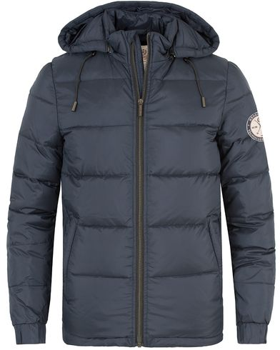 Henri Lloyd Kennington Down Jacket Navy i gruppen Jackor / Vadderade jackor hos Care of Carl (13174711r)