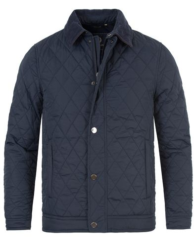 Henri Lloyd Inver Quilted Jacket Navy i gruppen Jackor / Quiltade jackor hos Care of Carl (13174911r)