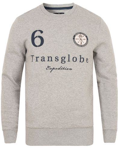 Henri Lloyd Samson Branded Sweat Grey Marl i gruppen Tröjor / Sweatshirts hos Care of Carl (13176011r)