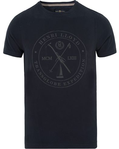 Henri Lloyd Oldbury Regular Tee Navy i gruppen Kläder / T-Shirts / Kortärmade t-shirts hos Care of Carl (13176711r)