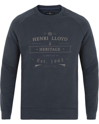 Henri Lloyd Kemsing Crew Sweat Navy i gruppen Tröjor / Sweatshirts hos Care of Carl (13177211r)