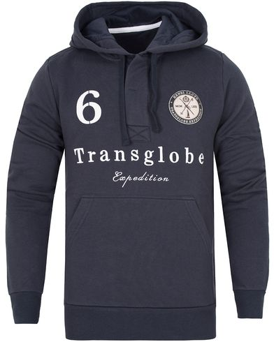Henri Lloyd Guston Hooded Sweat Navy i gruppen Tröjor / Huvtröjor hos Care of Carl (13177411r)