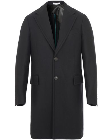 Boglioli Cappotto Wool Coat Black i gruppen Jackor / Vinterjackor hos Care of Carl (13178411r)