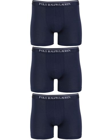 Polo Ralph Lauren 3-Pack Boxer Brief Navy i gruppen Undertøy / Underbukser hos Care of Carl (13180811r)