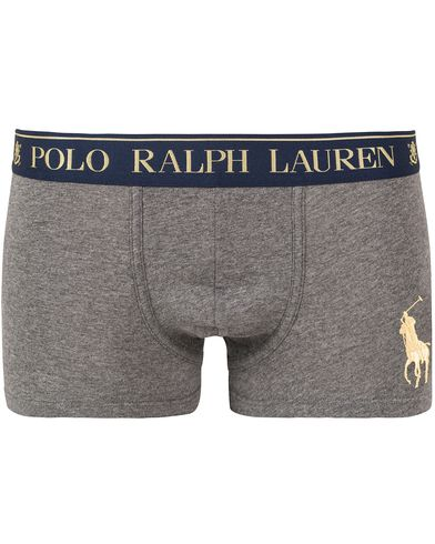 Polo Ralph Lauren Big Pony Pouch Trunk Boxer Dusty Grey i gruppen Kläder / Underkläder / Kalsonger hos Care of Carl (13181611r)