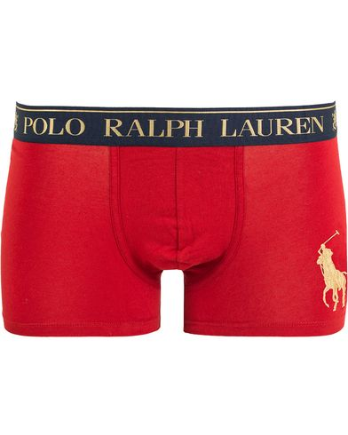 Polo Ralph Lauren Big Pony Pouch Trunk Boxer Franklin Red i gruppen Underkläder / Kalsonger hos Care of Carl (13181711r)