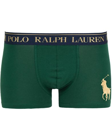 Polo Ralph Lauren Big Pony Pouch Trunk Boxer New Forrest Green i gruppen Undertøy / Underbukser hos Care of Carl (13181811r)