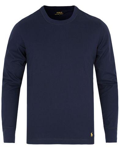 Polo Ralph Lauren Light Crew Neck Sweat Cruise Navy i gruppen Underkläder / Pyjamas / Pyjamaströjor hos Care of Carl (13182511r)