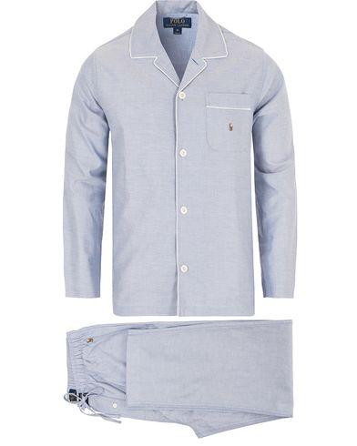 Polo Ralph Lauren Oxford Pyjamas Set Oxford Blue i gruppen Kläder / Underkläder / Pyjamas / Pyjamasset hos Care of Carl (13182711r)
