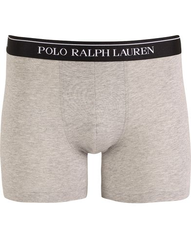 Polo Ralph Lauren Boxer Brief Heather Grey i gruppen Undert�y / Underbukser / Boksershorts Lang hos Care of Carl (13183411r)