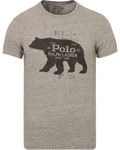 Polo Ralph Lauren Printed Tee Twist Heather i gruppen T-Shirts / Kort�rmad T-shirt hos Care of Carl (13183811r)