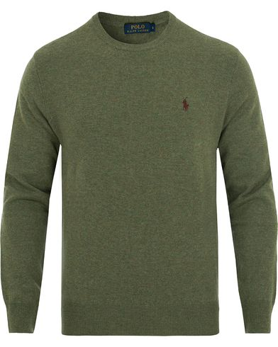 Polo Ralph Lauren Lux Merino Crew Neck Pullover Lovette Heather i gruppen Tröjor / Pullovers / Rundhalsade pullovers hos Care of Carl (13187711r)