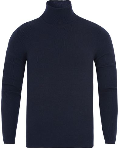Polo Ralph Lauren Merino Roll Neck Hunter Navy i gruppen Tr�jor / Polotr�jor hos Care of Carl (13188211r)