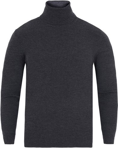 Polo Ralph Lauren Merino Roll Neck Dark Granite i gruppen Design A / Gensere / Pologensere hos Care of Carl (13188311r)