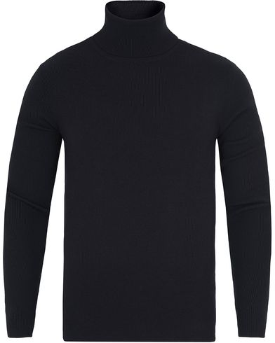 Polo Ralph Lauren Merino Roll Neck Polo Black i gruppen Gensere / Pologensere hos Care of Carl (13188411r)