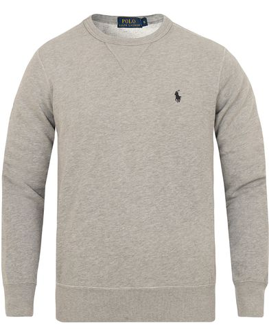 Polo Ralph Lauren Vintage Fleece Sweatshirt Natural Grey Heather i gruppen Gensere / Sweatshirts hos Care of Carl (13190711r)