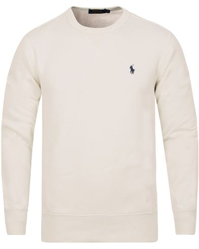 Polo Ralph Lauren Vintage Fleece Sweatshirt Nevis White i gruppen Gensere / Sweatshirts hos Care of Carl (13190811r)