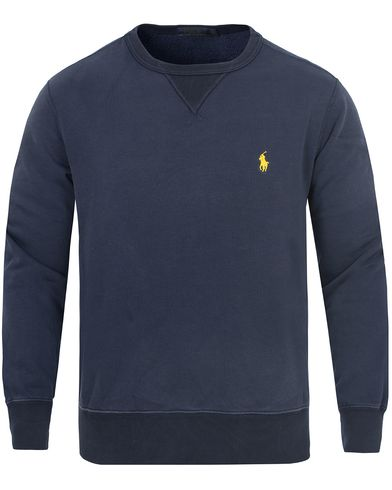 Polo Ralph Lauren Vintage Fleece Sweatshirt Summer Navy i gruppen Gensere / Sweatshirts hos Care of Carl (13191011r)